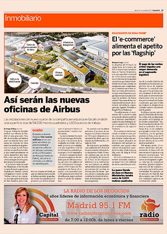 Central Campus offices for Airbus Defense & Space