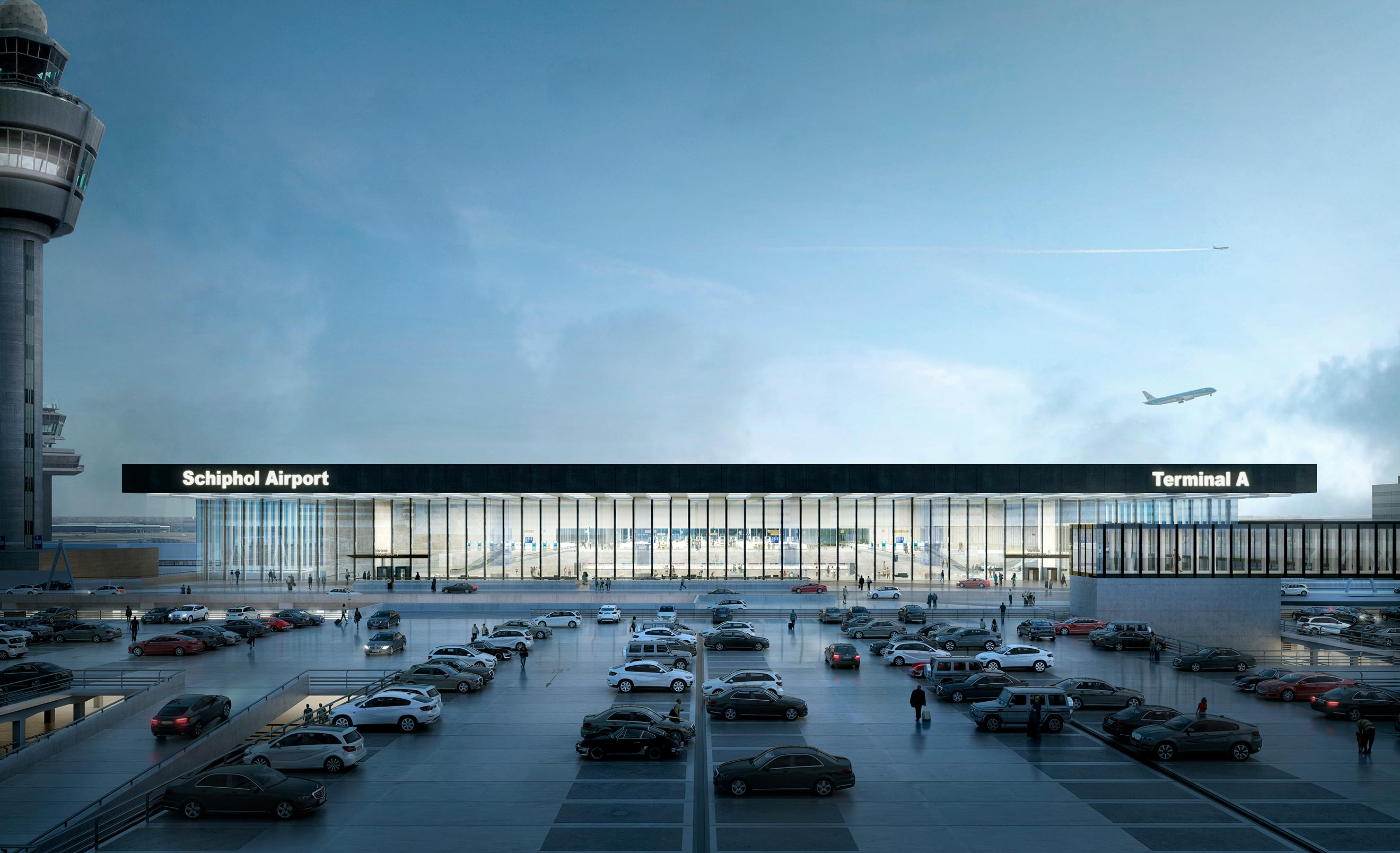 Estudio Lamela and KAAN Architecten have been awarded the International Architecture Award 2018 for the Schiphol Airport Terminal