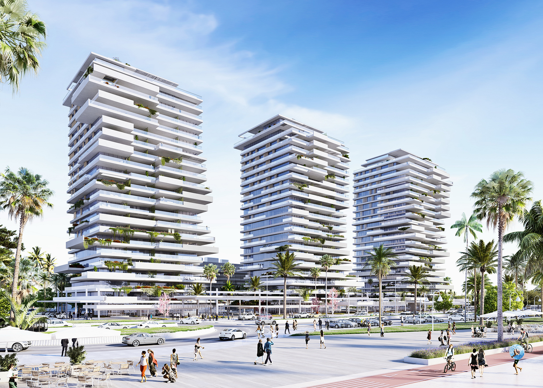 Estudio Lamela has been declared the winners by Metrovacesa to design one of the iconic apartment buildings of Málaga