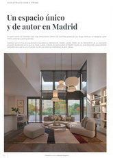 A unique space in Madrid